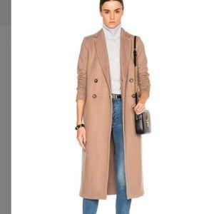 James Perse Camel Beige overcoat - classic look